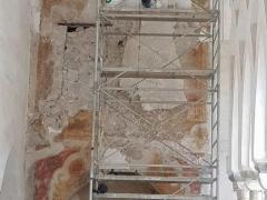 Affresco-Chiosco-Paradiso-Cattedrale-Amalfi-2-Operazioni-di-consolidamento-8