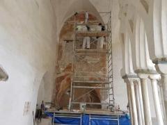 Affresco-Chiosco-Paradiso-Cattedrale-Amalfi-2-Operazioni-di-consolidamento-9