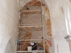 Affresco-Chiosco-Paradiso-Cattedrale-Amalfi-4-Operazione-di-stuccature-1