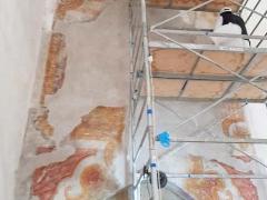Affresco-Chiosco-Paradiso-Cattedrale-Amalfi-4-Operazione-di-stuccature-4