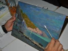 Camera Commercio Salerno 2009 Conservazione Restauro Dipinto Tavola Luigi Paolillo sec XX11