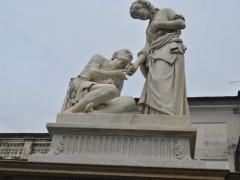 Conservazione e Restauro Statua della Carita2