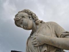 Conservazione e Restauro Statua della Carita8