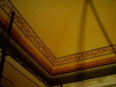Conservazione e Restauro delle Decorazioni Soffitto Neoclassiche1