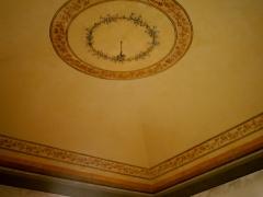 Conservazione e Restauro delle Decorazioni Soffitto Neoclassiche3