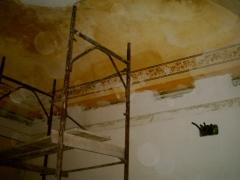 Conservazione e Restauro delle Decorazioni Soffitto Neoclassiche5