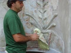 Conservazione Restauro della Fontana Neoclassica - Privato6
