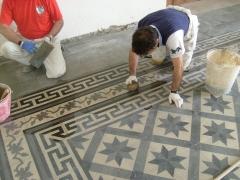 Conservazione Restauro Pavimentazione Neoclassica10