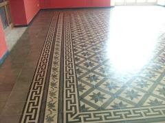 Conservazione Restauro Pavimentazione Neoclassica13