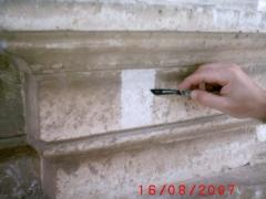 Conservazione Restauro Portale Santa Maria Caiazzo10