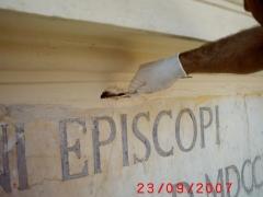 Conservazione Restauro Portale Santa Maria Caiazzo4