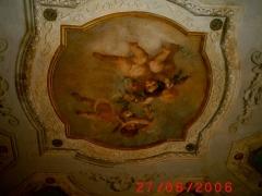 Conservazione Restauro Tela Neoclassica Soffitto3