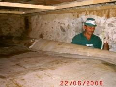 Conservazione Restauro Tela Neoclassica Soffitto5