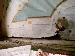 Conservazione Restauro Tela Neoclassica Soffitto7