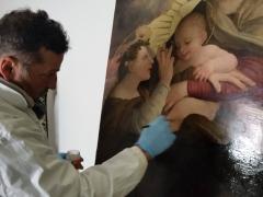 Dipinto su tavola Andrea Salerno11