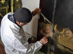 Dipinto su tavola Andrea Salerno13