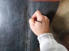 Dipinto su tavola Andrea Salerno2
