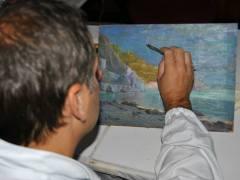 Camera Commercio Salerno 2009 Conservazione Restauro Dipinto Tavola Luigi Paolillo sec XX5