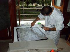 Camera Commercio Salerno 2009 Conservazione Restauro Tela Antonio Ferrigno sec XX3