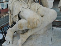 Conservazione e Restauro Statua della Carita5
