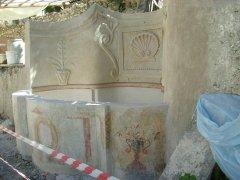 Conservazione Restauro della Fontana Neoclassica - Privato12
