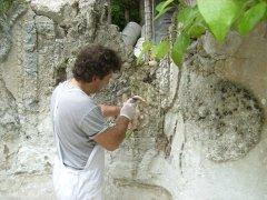 Conservazione Restauro della Fontana Neoclassica - Privato4