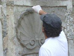 Conservazione Restauro della Fontana Neoclassica - Privato8