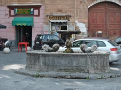 Conservazione Restauro Fontana Statua Carita2