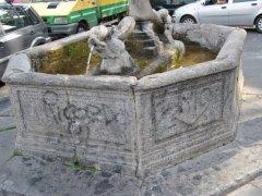 Conservazione Restauro Fontana Statua Carita8