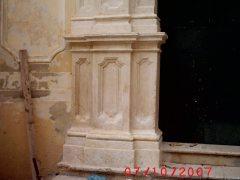 Conservazione Restauro Portale Santa Maria Caiazzo13