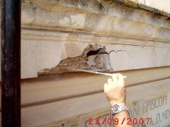 Conservazione Restauro Portale Santa Maria Caiazzo14
