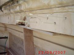 Conservazione Restauro Portale Santa Maria Caiazzo18