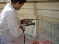 Conservazione Restauro Portale Santa Maria Caiazzo20