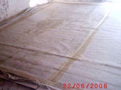 Conservazione Restauro Tela Neoclassica Soffitto2