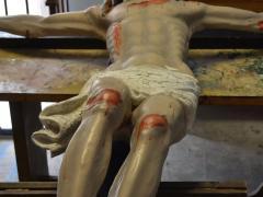 Crocifisso Ligneo sec XVII Chiesa San Domenico Solofra16