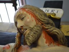 Crocifisso Ligneo sec XVII Chiesa San Domenico Solofra48
