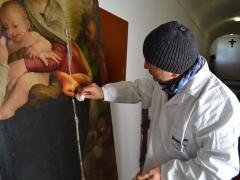 Dipinto su tavola Andrea Salerno17