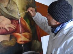 Dipinto su tavola Andrea Salerno4