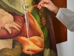 Dipinto su tavola Andrea Salerno6