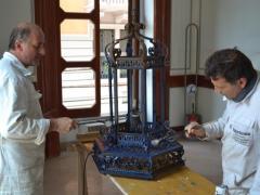 Elementi Decorativi Ferro Camera Commercio Salerno16