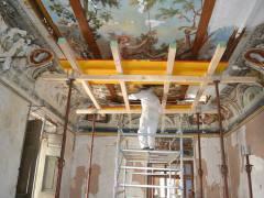 Palazzo Garzilli Soffitta Cannucce - Adamo Eva -Solofra17