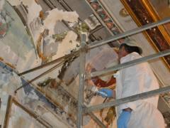 Palazzo Garzilli Soffitta Cannucce - Adamo Eva -Solofra6