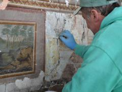 Palazzo Garzilli Solofra Distacchi Pitture Murali19