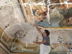 Palazzo Garzilli Solofra Restauro Soffitta17