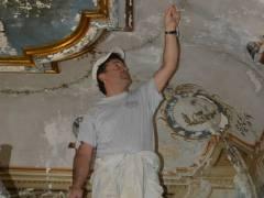 Palazzo Garzilli Solofra Restauro Soffitta6
